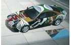 BMW 850 CSi, David Hockney