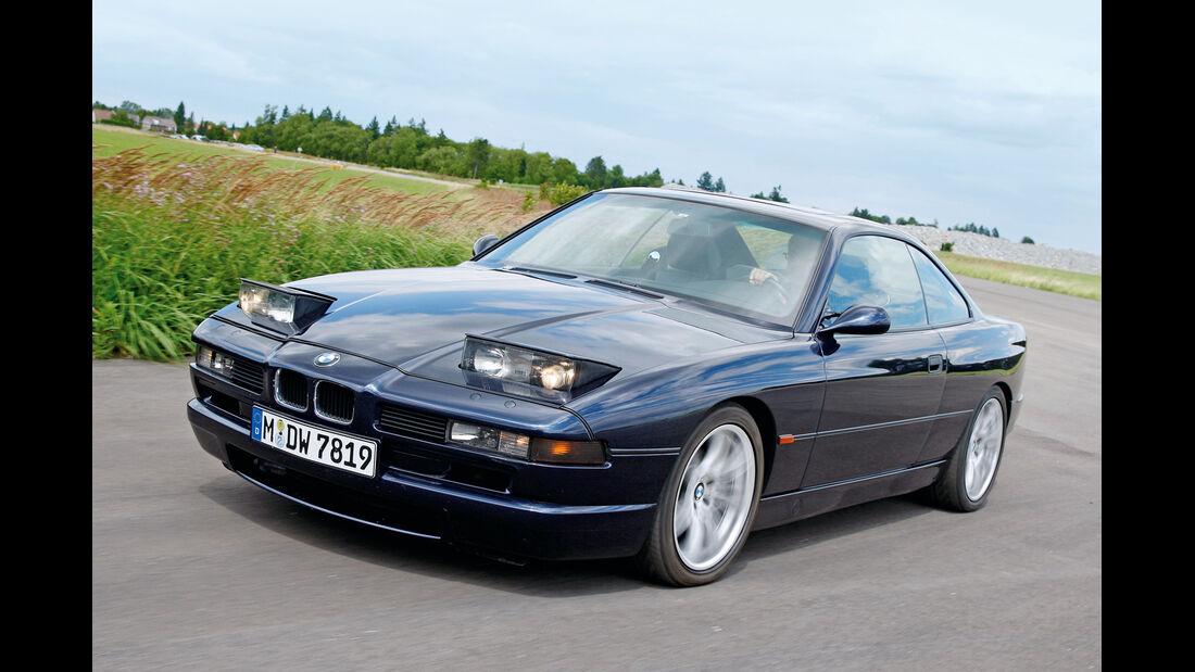 BMW 850 CSi, Frontansicht