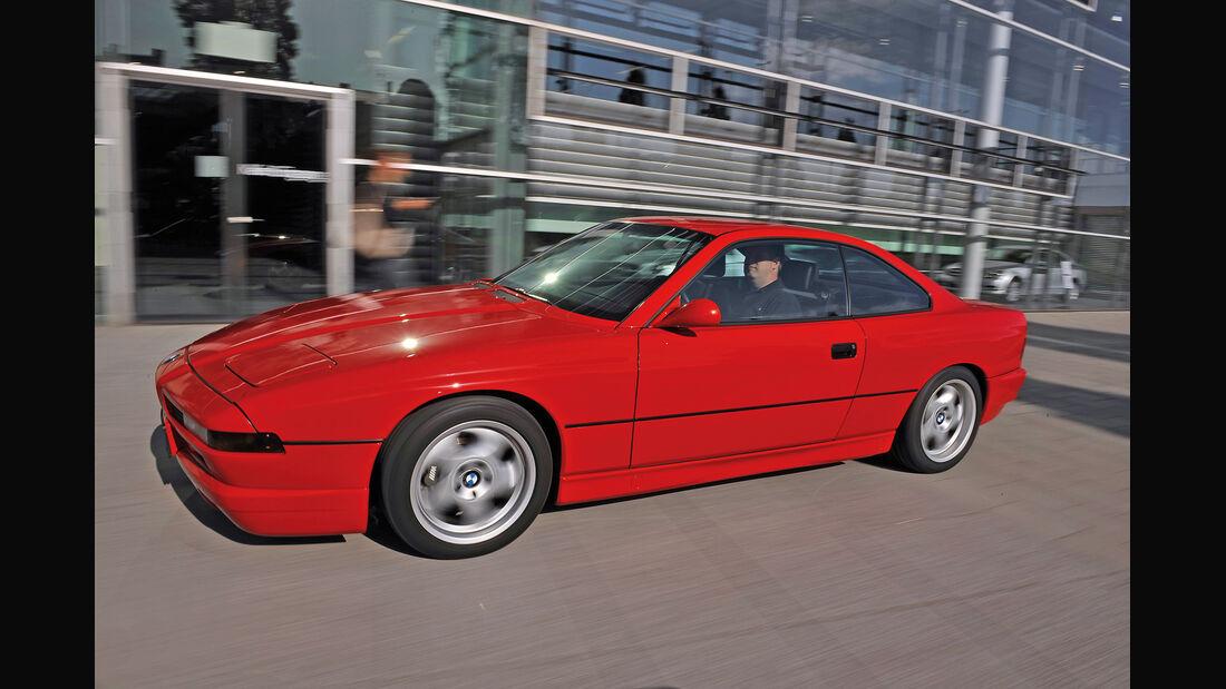 BMW 850 CSi, Seitenansicht