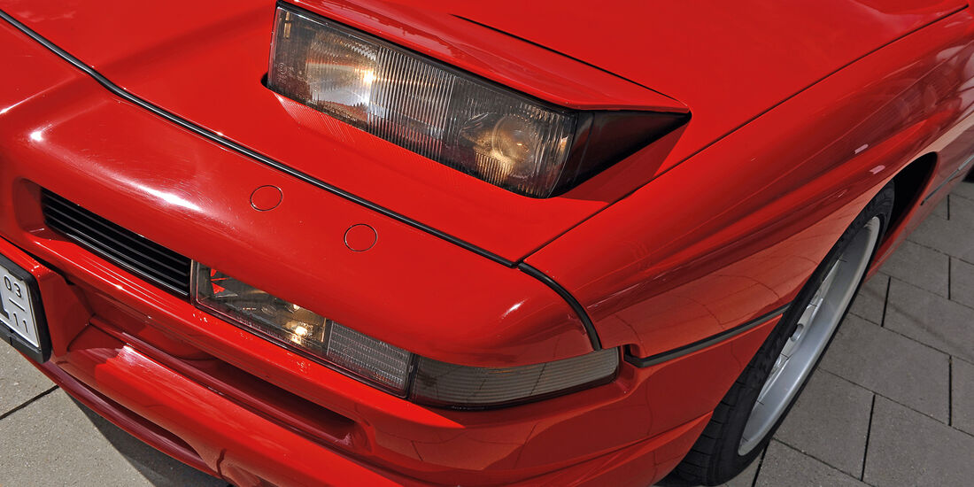 BMW 850i - 850 CSi, Frontscheinwerfer