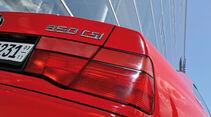 BMW 850i - 850 CSi, Heckleuchte, Typenbezeichnung