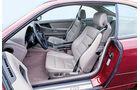 BMW 850i, Fahrersitz