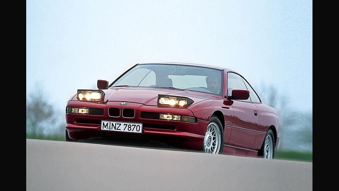 BMW 850i, Frontansicht