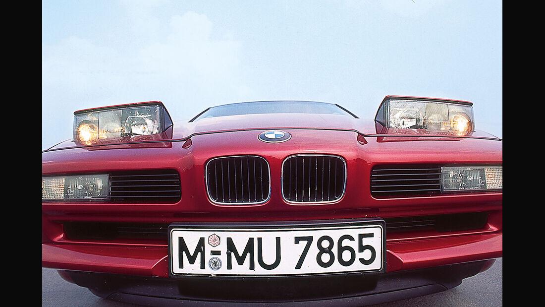 BMW 850i, Frontscheinwerfer