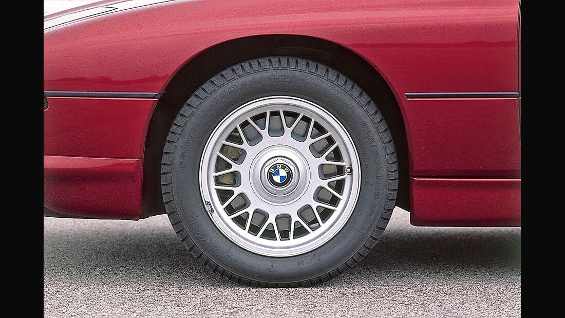 BMW 850i, Rad, Felge