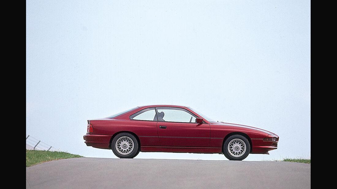 BMW 850i, Seitenansicht
