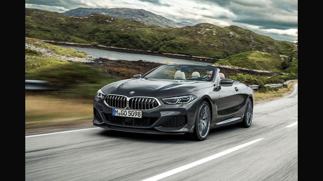 BMW 8er Cabrio Modellpflege Sommer 2019