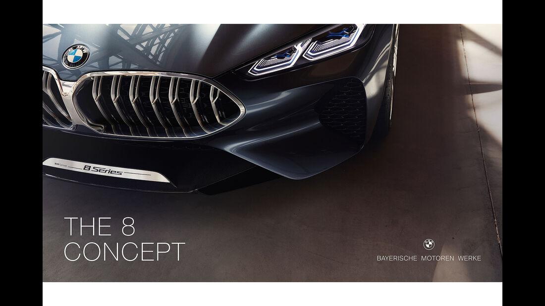 BMW 8er Concept Luxus Neuer Markenauftritt IAA 2017