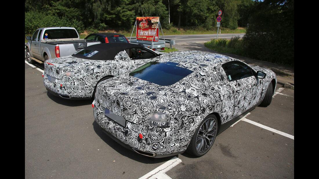 BMW 8er Coupé und Cabrio Erlkönig