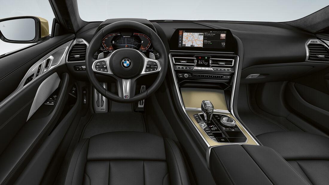 BMW 8er Edition Golden Thunder