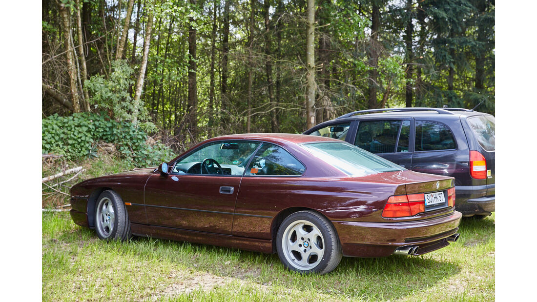 BMW 8er - Fan-Autos - 24h-Rennen Nürburgring 2015 - 14.5.2015
