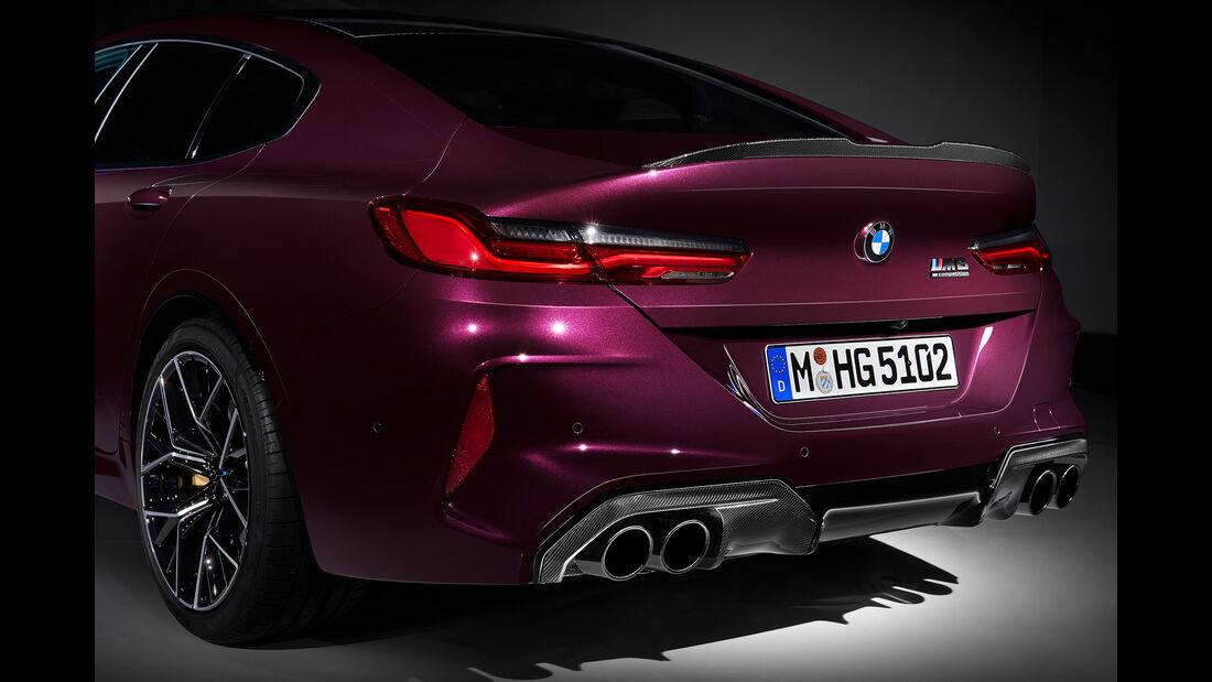 BMW 8er Gran Coupé, Exterieur