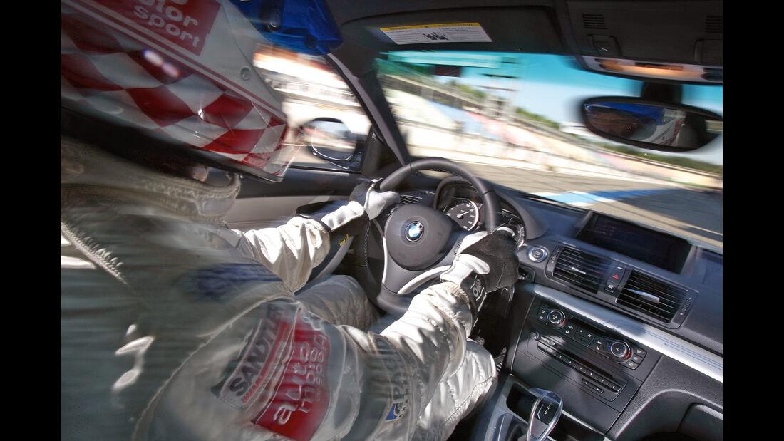 BMW Active E, Cockpit