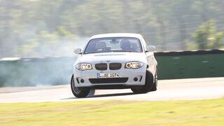 BMW Active E, Frontansicht, Driften