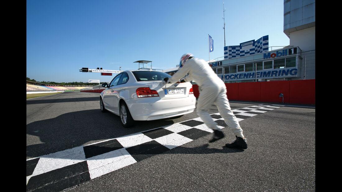 BMW Active E, Heck, schieben