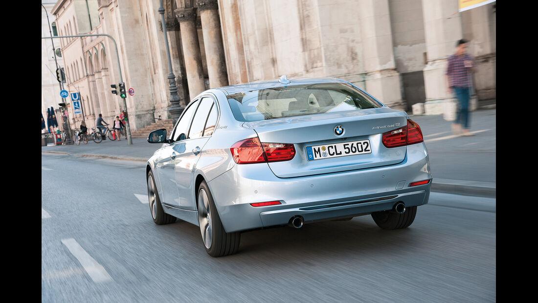 BMW Active Hybrid 3, Kofferraum