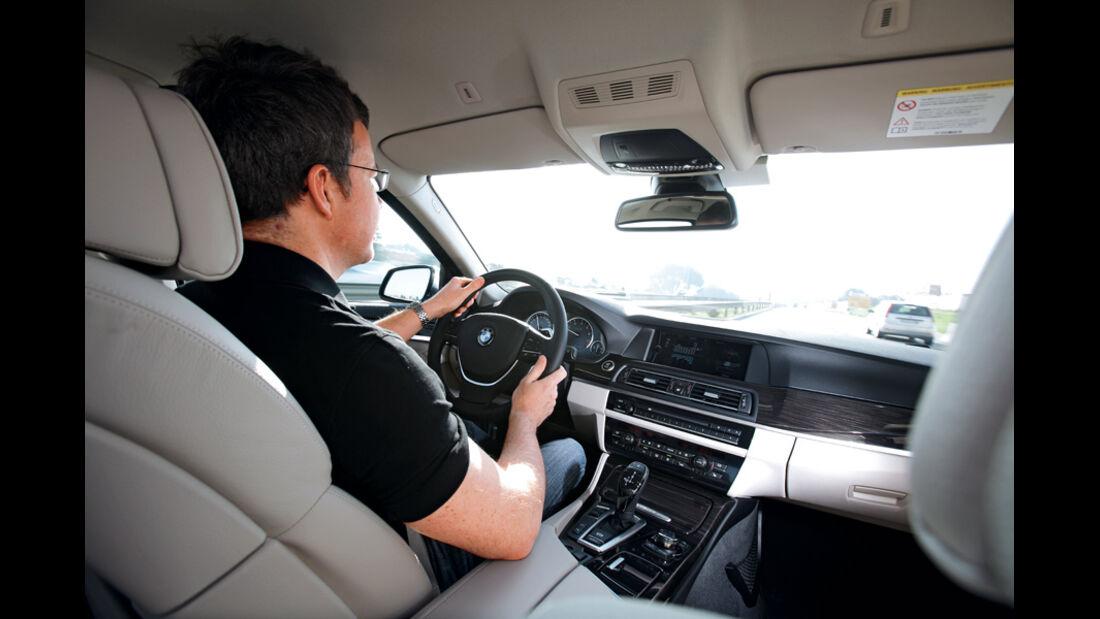BMW Active Hybrid 5, Cockpit