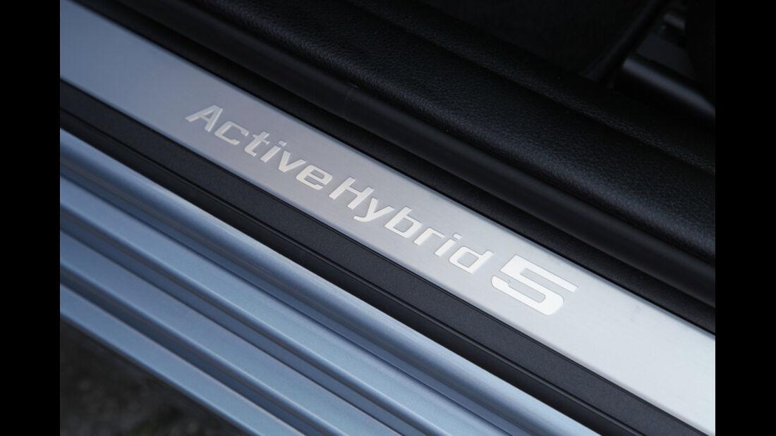 BMW Active Hybrid 5, Fußleiste