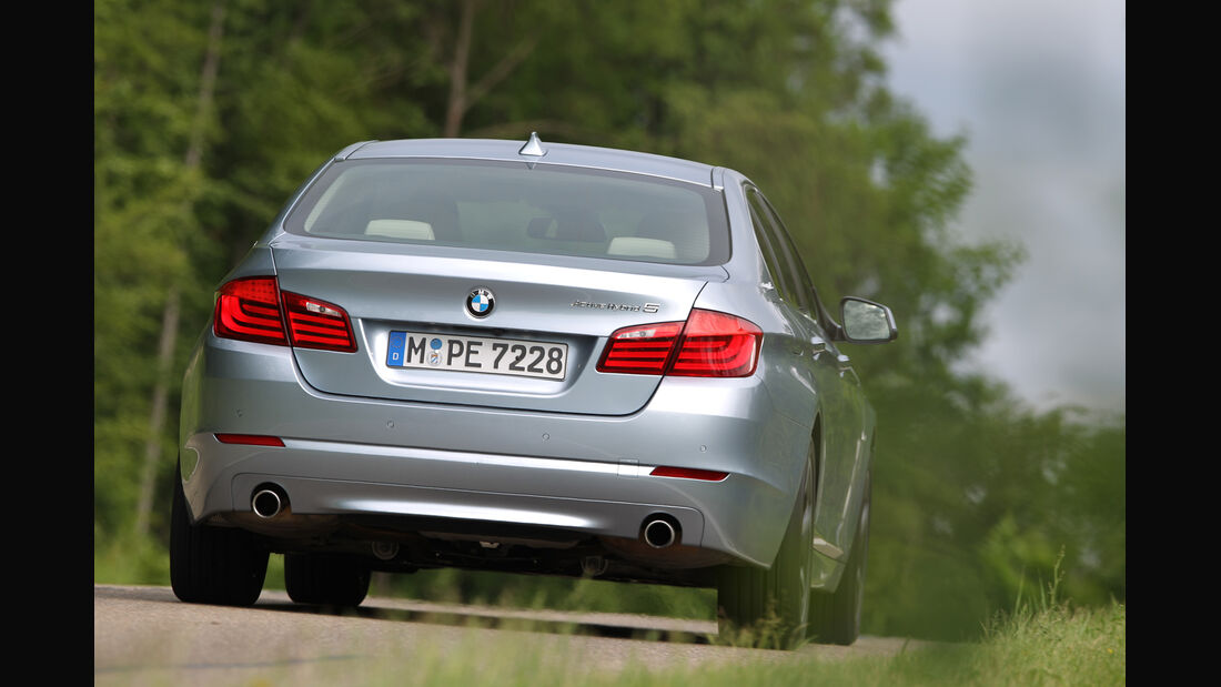 BMW Active Hybrid 5, Heckansicht
