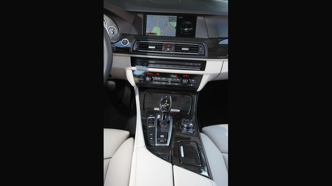 BMW Active Hybrid 5, Mittelkonsole
