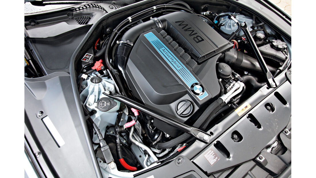 BMW Active Hybrid 5, Motor