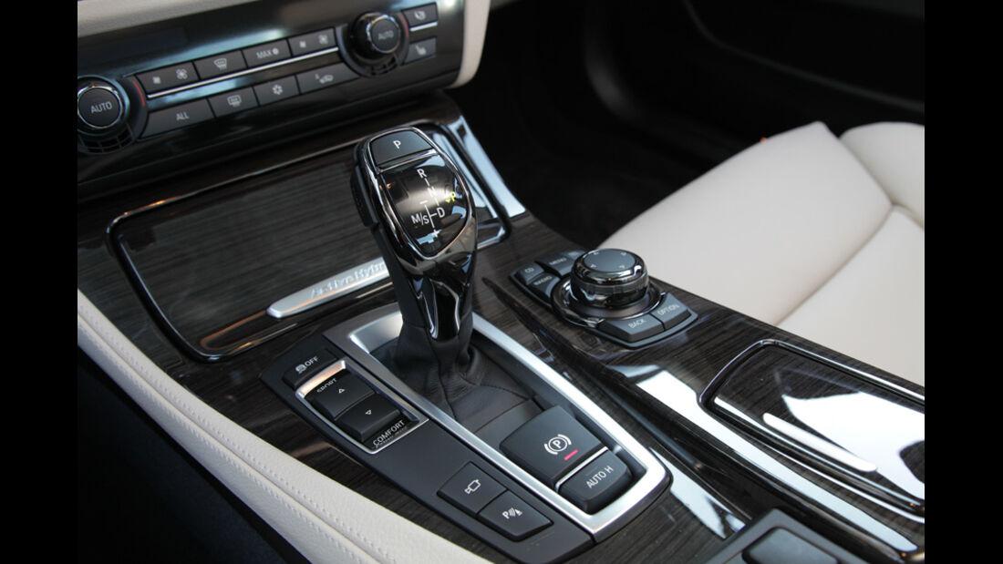 BMW Active Hybrid 5, Schalthebel, Schaltknauf