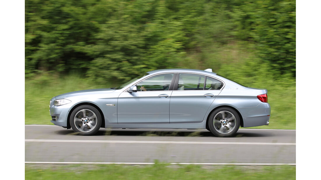 BMW Active Hybrid 5, Seitenansicht
