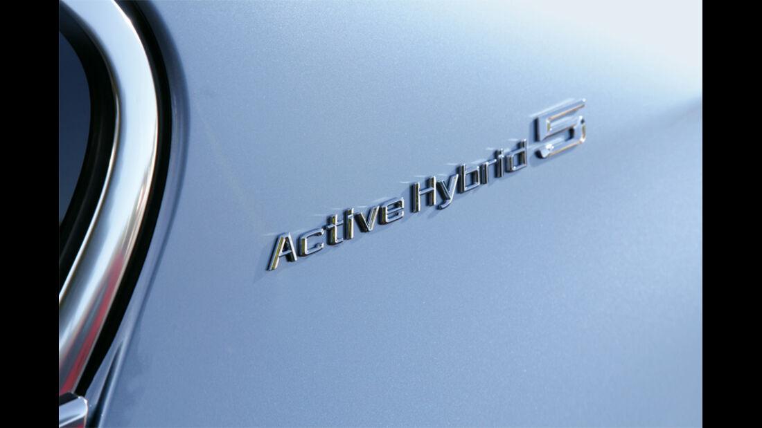 BMW Active Hybrid 5, Typenbezeichnung