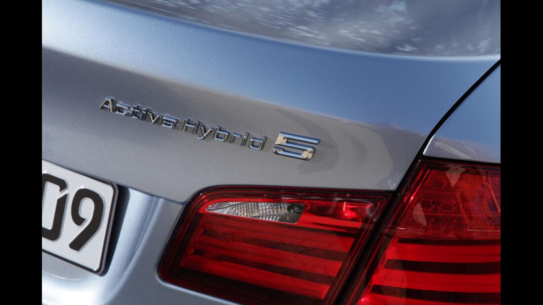 BMW Active Hybrid 5, Typenbezeichnung, Emblem