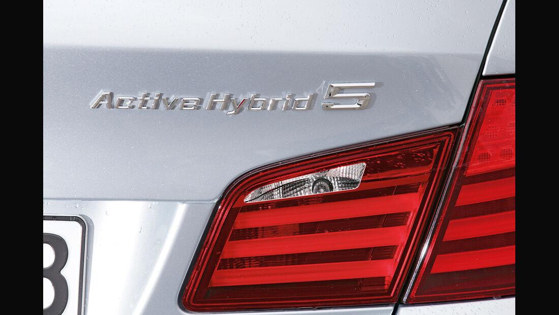 BMW Active Hybrid 5, Typenbezeichnung, Rückleuchte