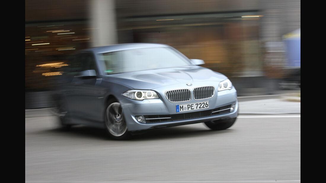 BMW Active Hybrid5, Front, Kurve