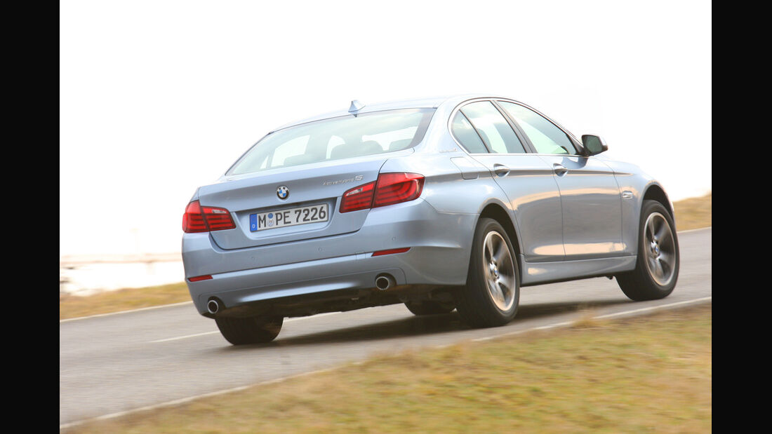 BMW Active Hybrid5, Heck