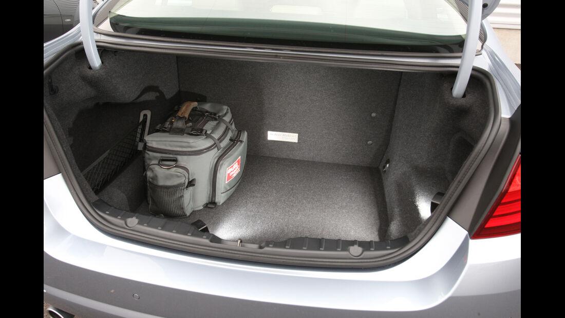 BMW Active Hybrid5, Kofferraum
