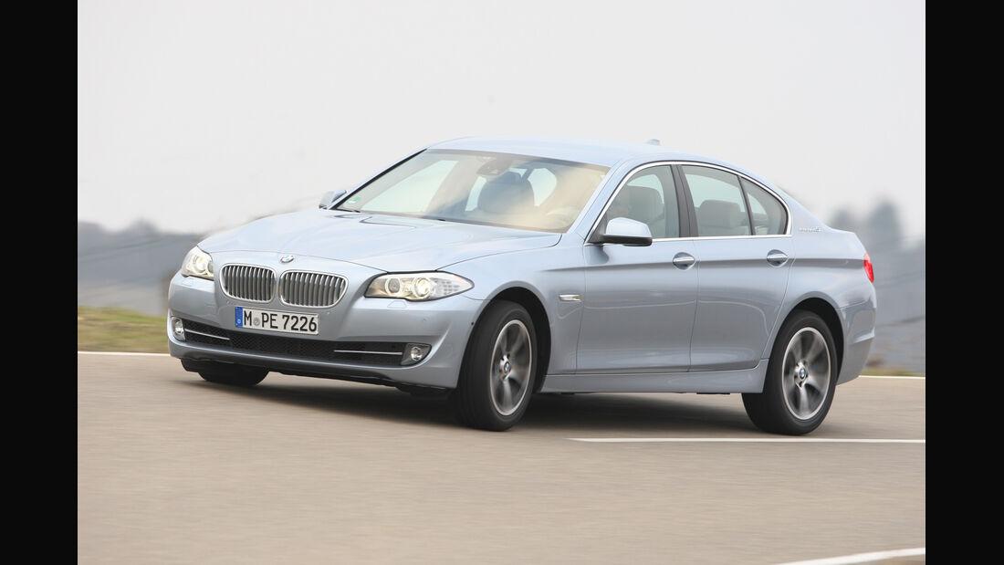 BMW Active Hybrid5, Seitenansicht