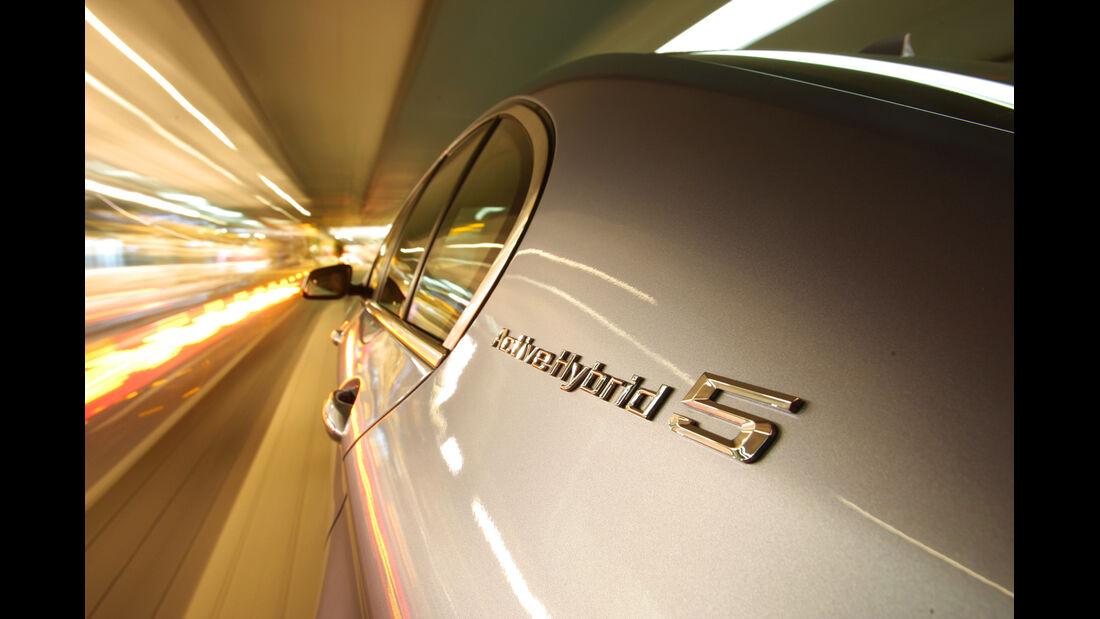 BMW Active Hybrid5, Seitenlinie, Schriftzug