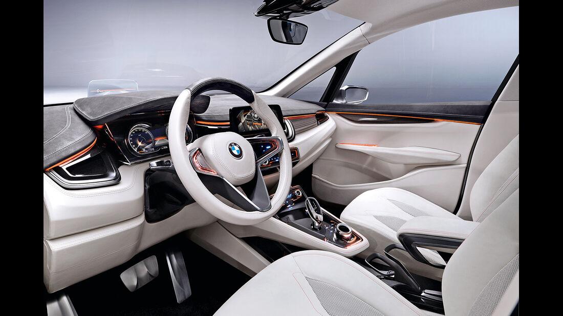 BMW Active Tourer, Cockpit