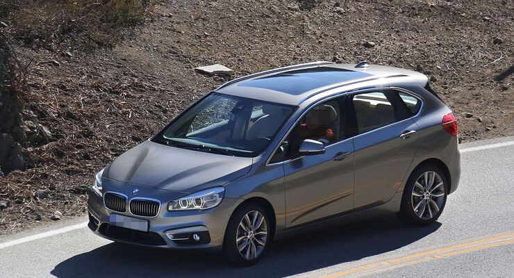 BMW Active Tourer, Frontansicht