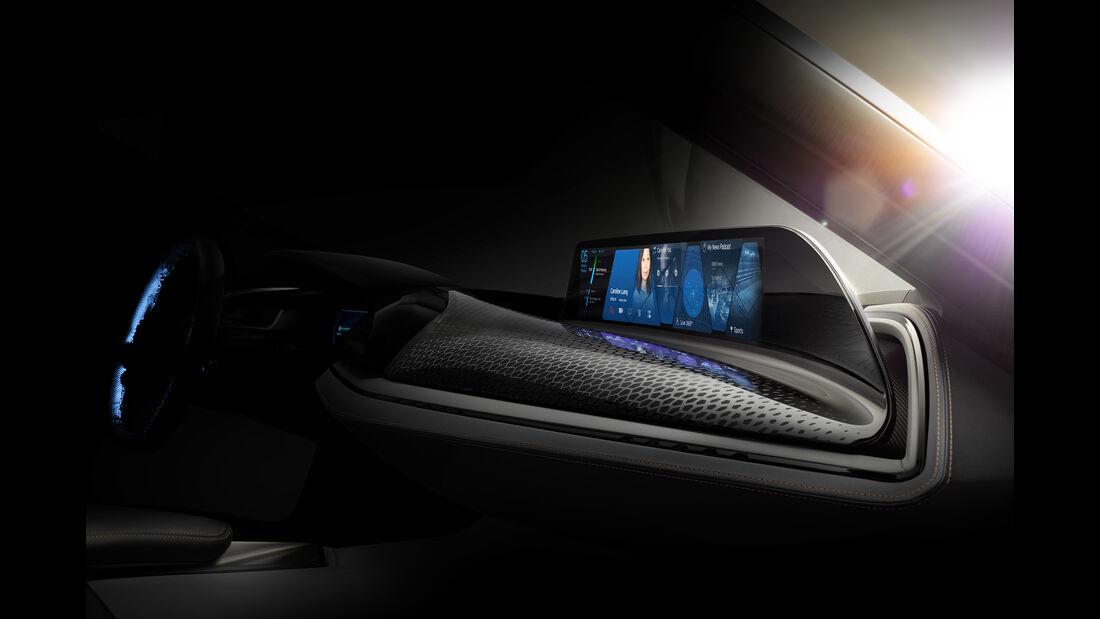 BMW AirTouch Cockpit, Gestensteuerung, CES 2016