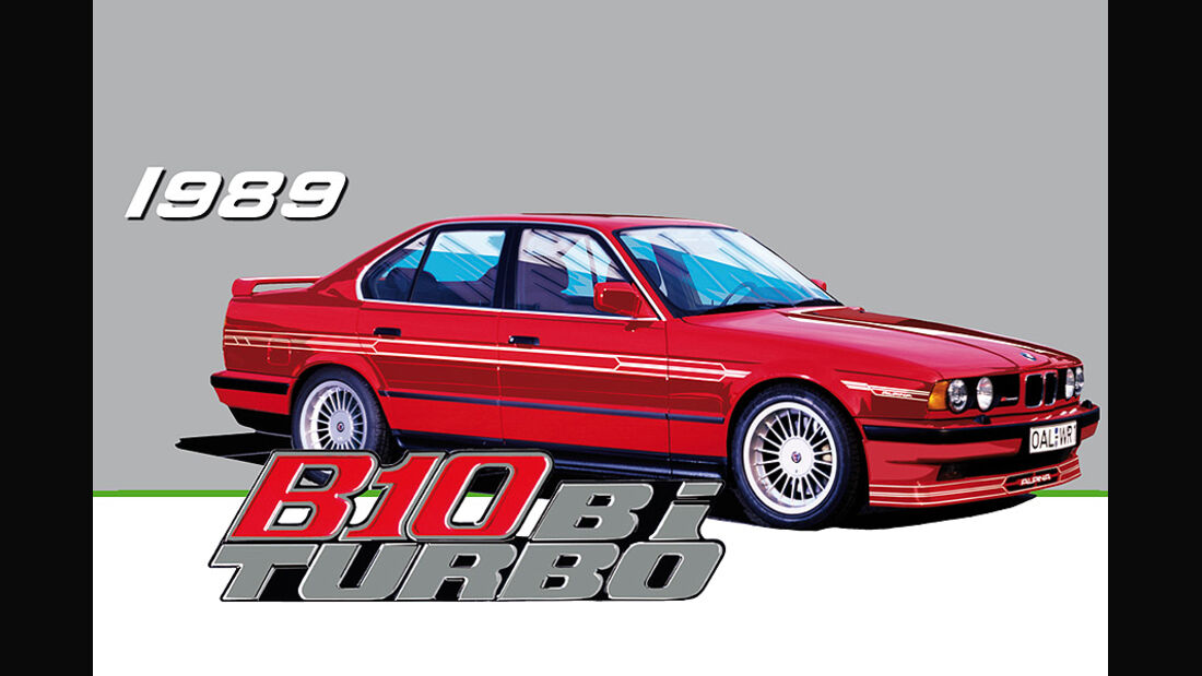 BMW Alpina B10 Biturbo 1989