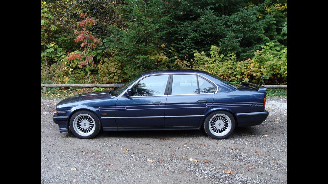 BMW Alpina B10, Seitenansicht