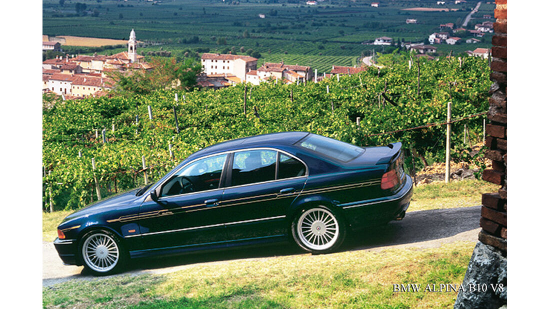 BMW Alpina B10 V8
