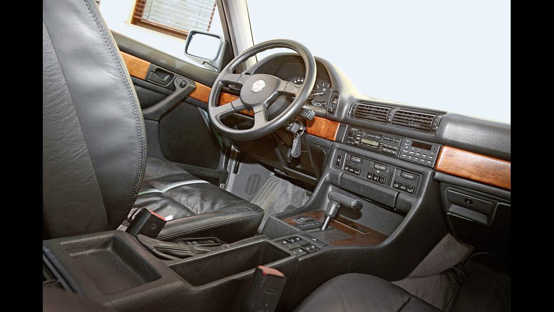 BMW Alpina B11 3.5, Cockpit