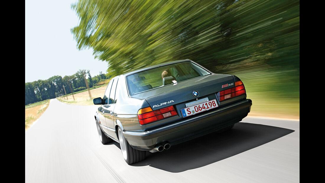 BMW Alpina B11 3.5, Heckansicht