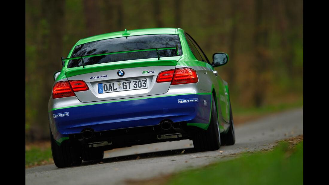 BMW Alpina B3 GT3, Heck