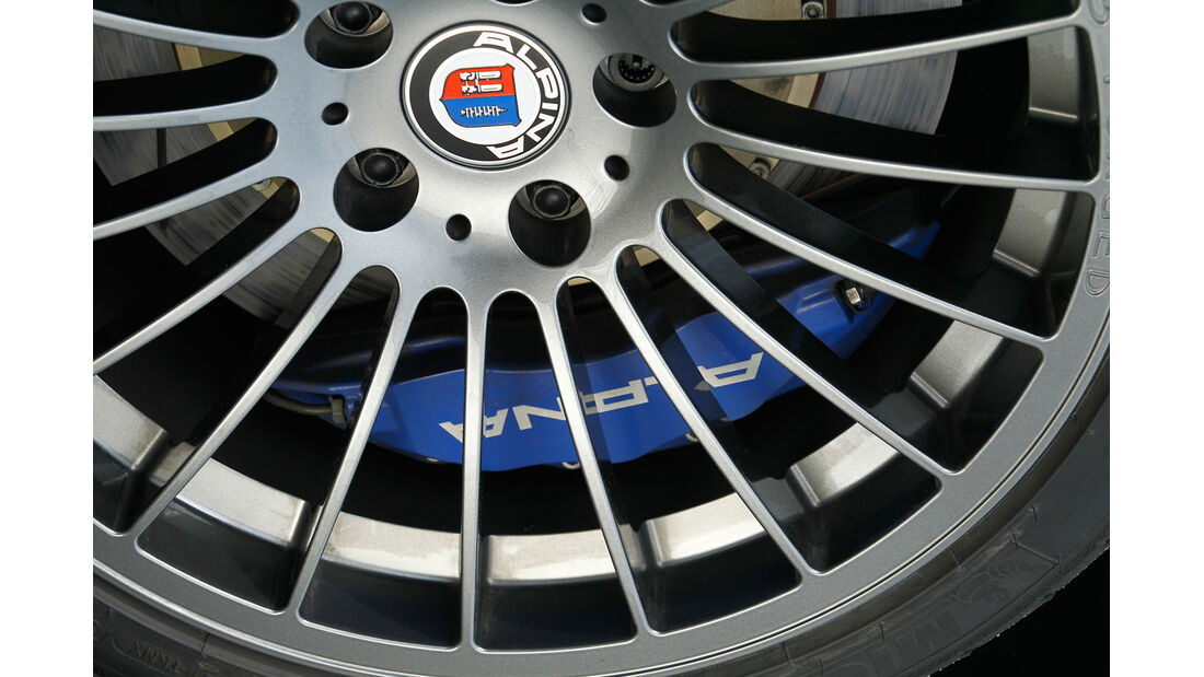 BMW Alpina B3 GT3, Rad, Felge