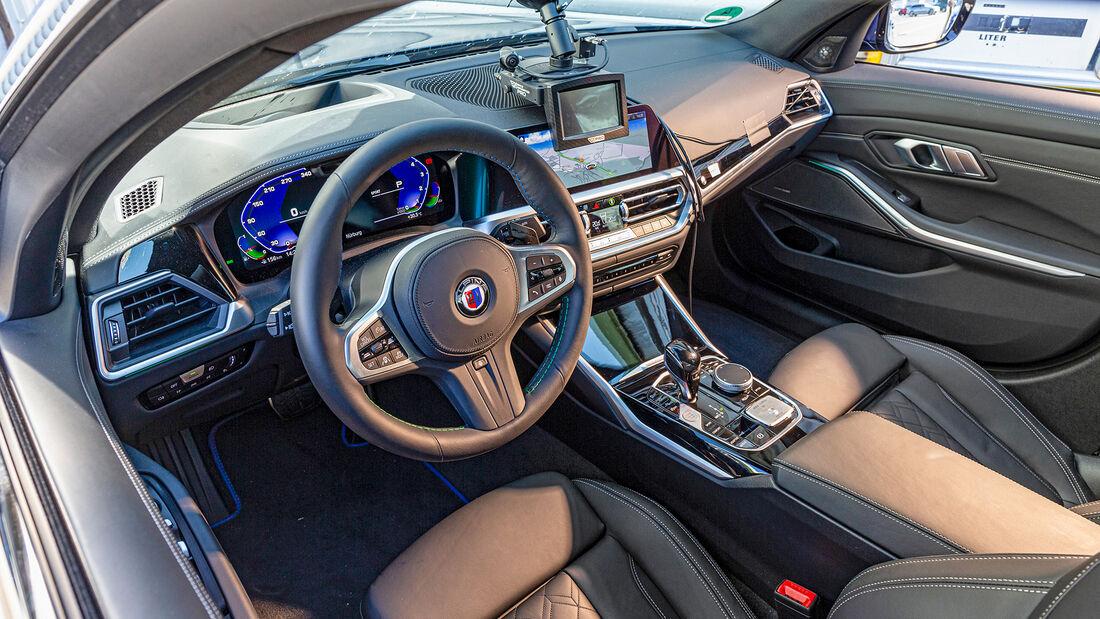BMW Alpina B3, Interieur