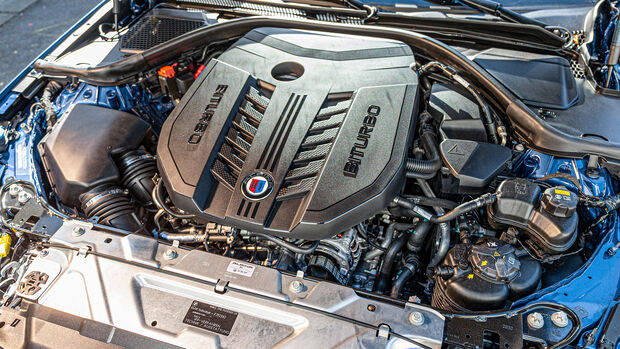 BMW Alpina B3, Motor