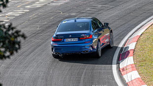 BMW Alpina B3, Nordschleife