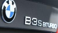 BMW Alpina B3 S Biturbo Coupé, Schriftzug