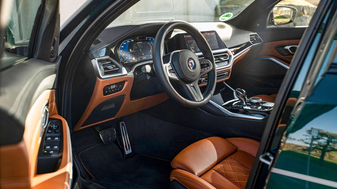 BMW Alpina B3 Touring, Interieur